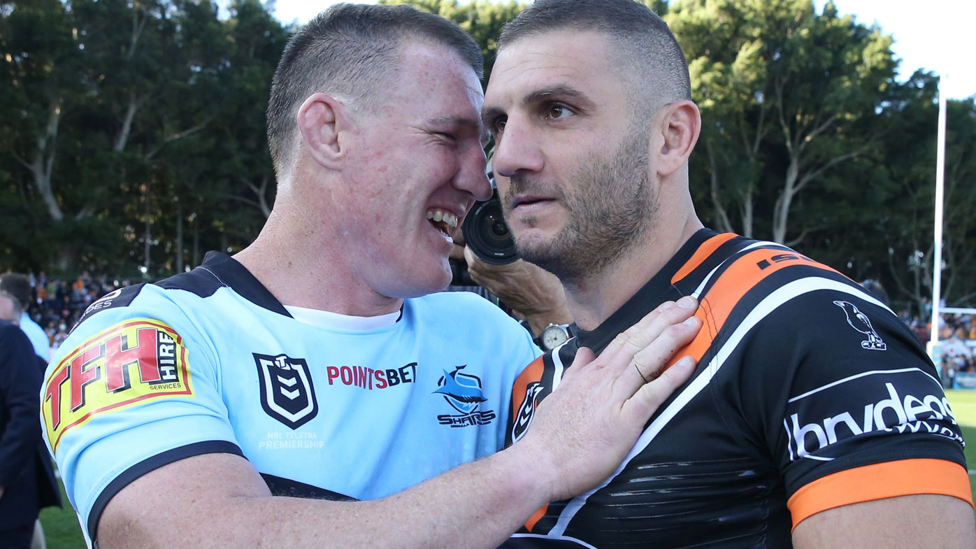 Paul Gallen and Robbie Farah