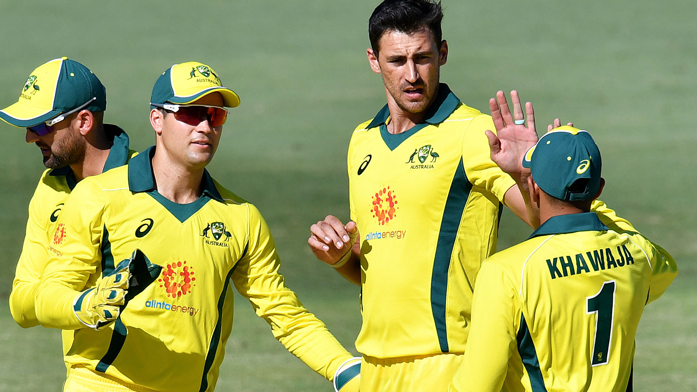 Starc starred with the ball