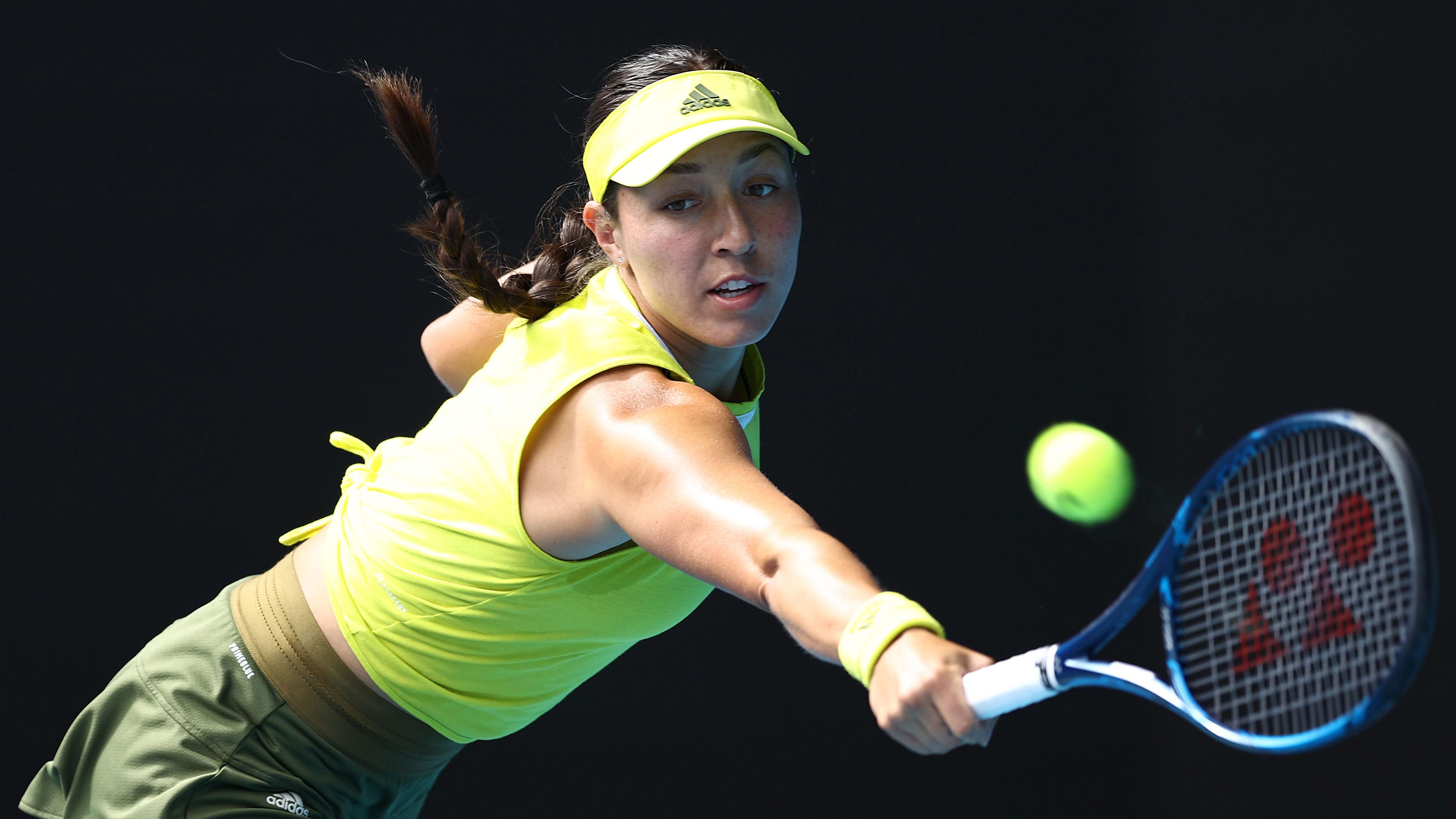 Jessica Pegula has had an outstanding Australian Open.