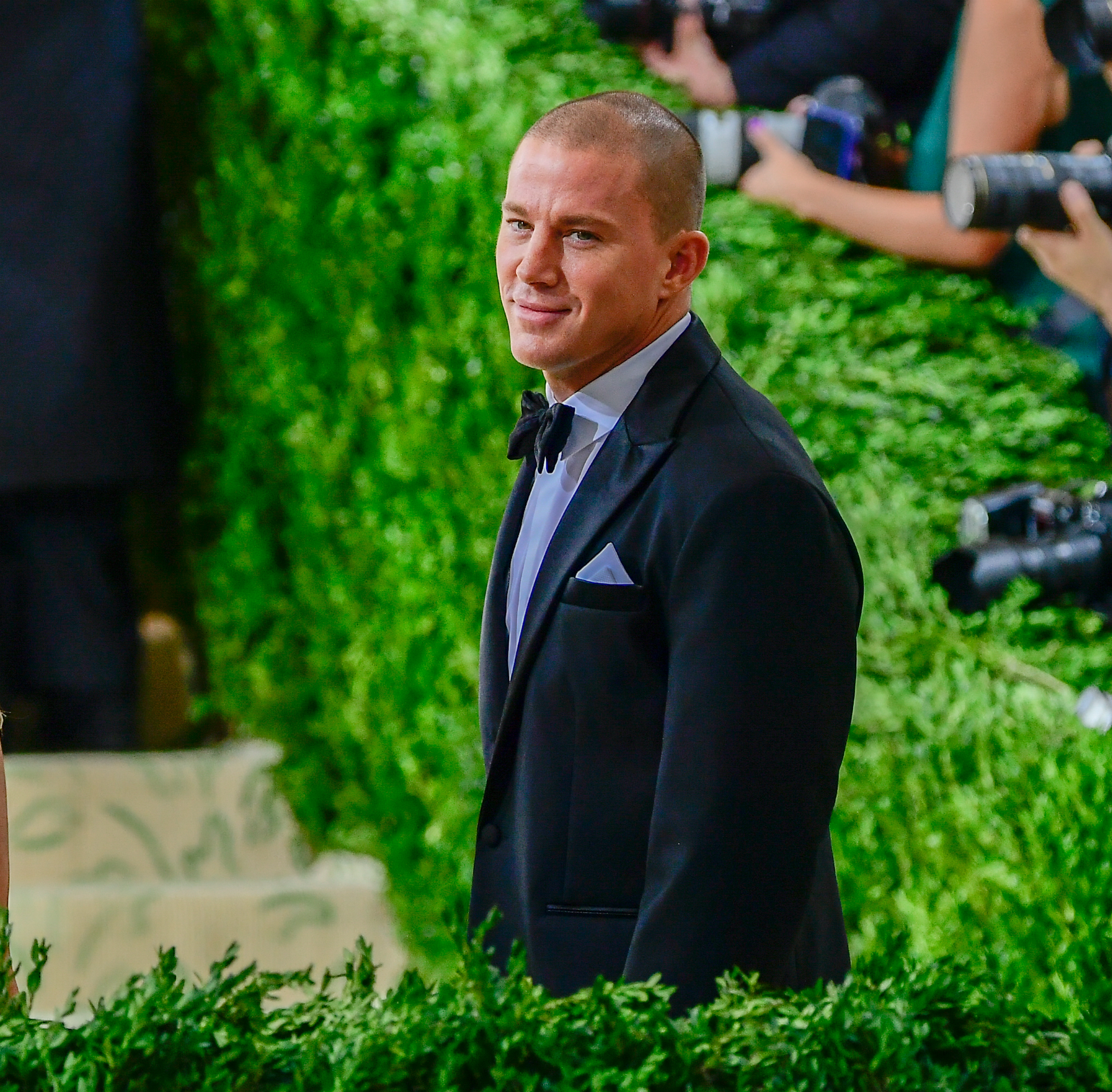 Channing Tatum attends The 2021 Met Gala Celebrating In America: A Lexicon Of Fashion on September 13, 2021 in New York City.