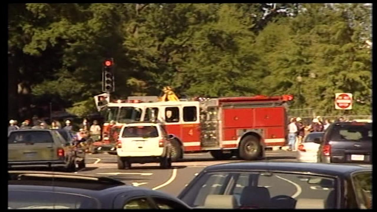 Mark Jessop filmed the chaos in Washington after the Pentagon was struck.