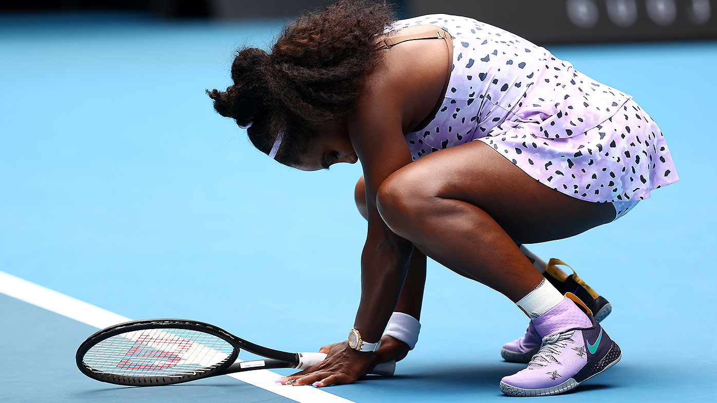 Williams' brutal self-assessment after Open exit