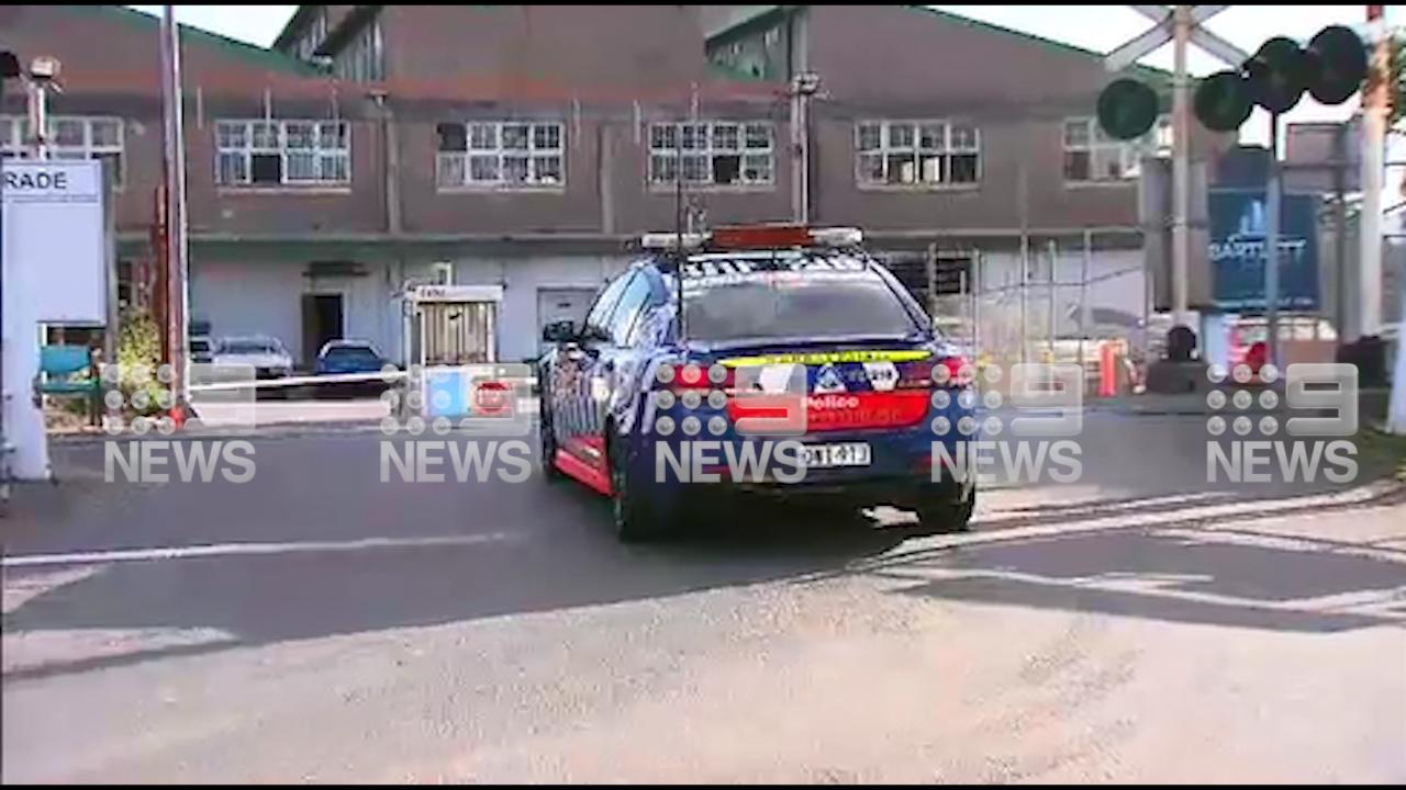 Police raid truck company involved in Melbourne freeway crash