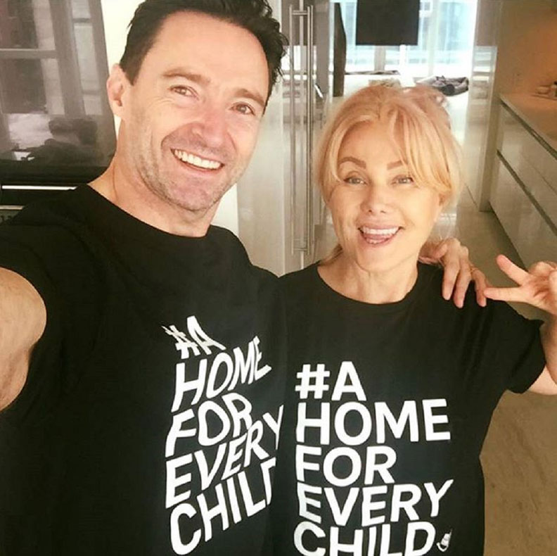 Deborra-lee Furness is working to make adoption easier for Australian families