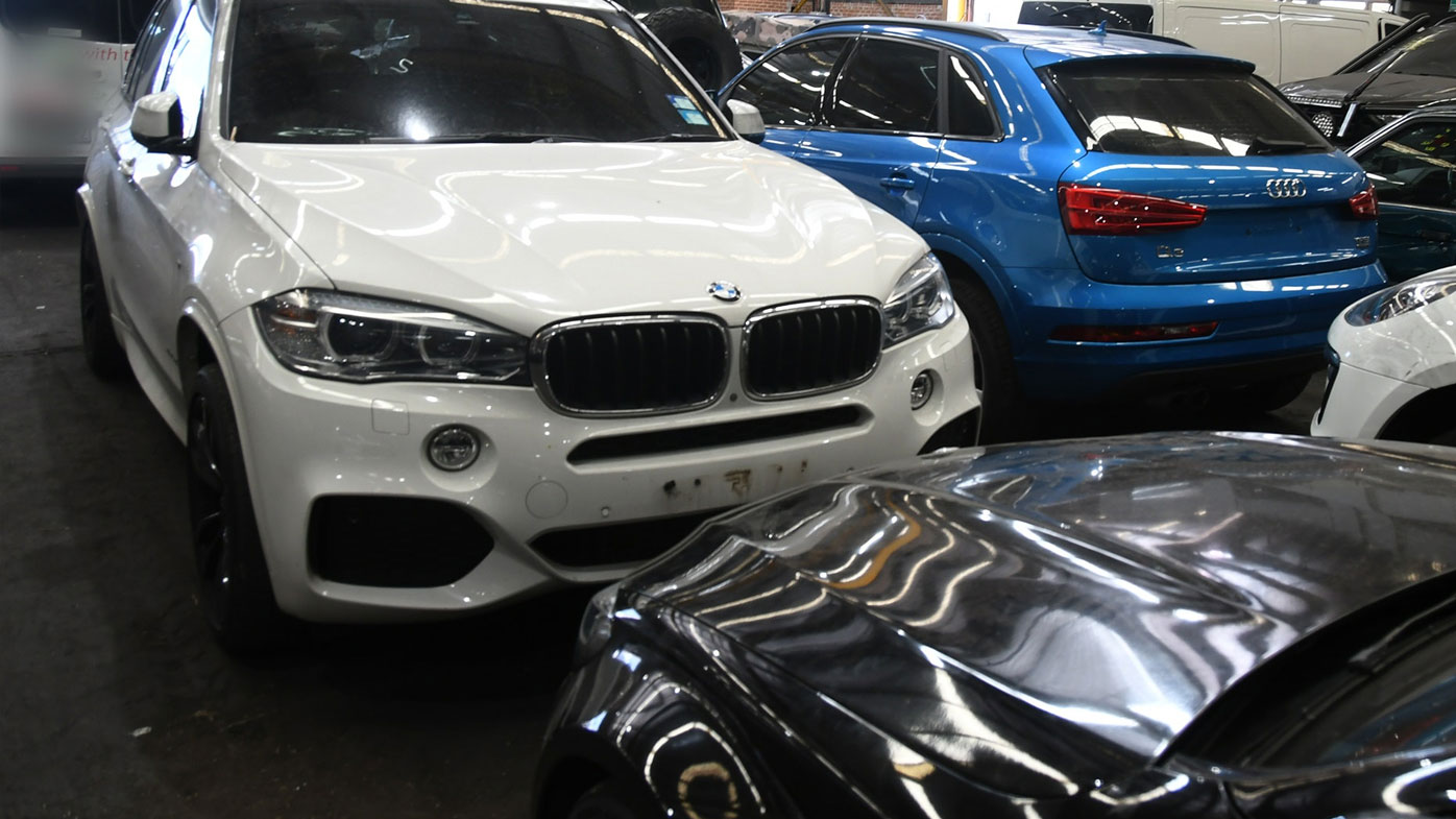 The duo is accused of being part of a network supplying stolen high-performance cars to underworld figures.