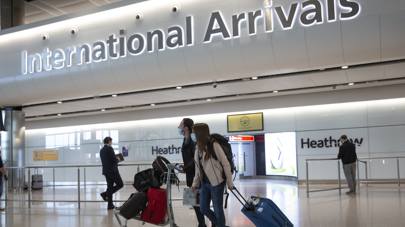 England to cut travel quarantines to five days with tests