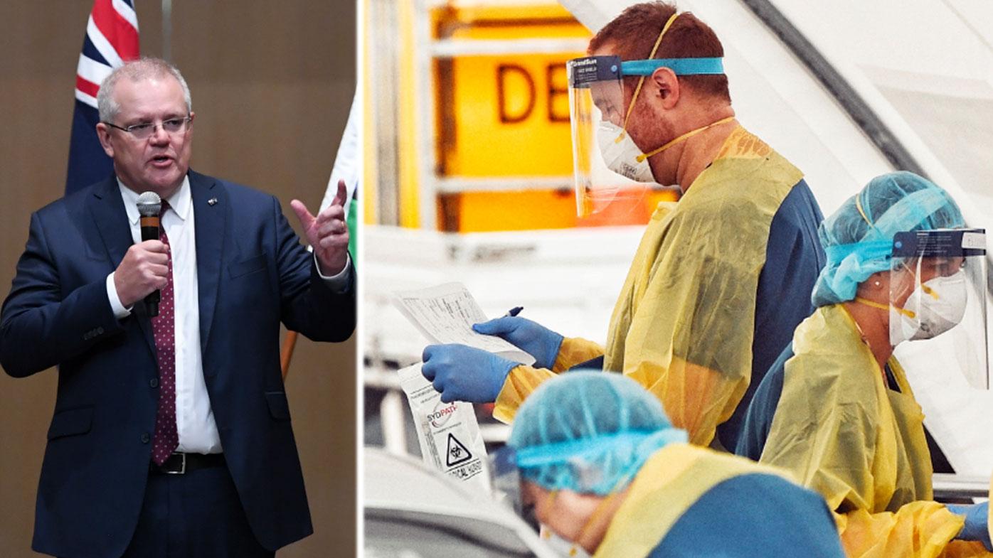 'We're beating virus, but fight goes on', says Scott Morrison
