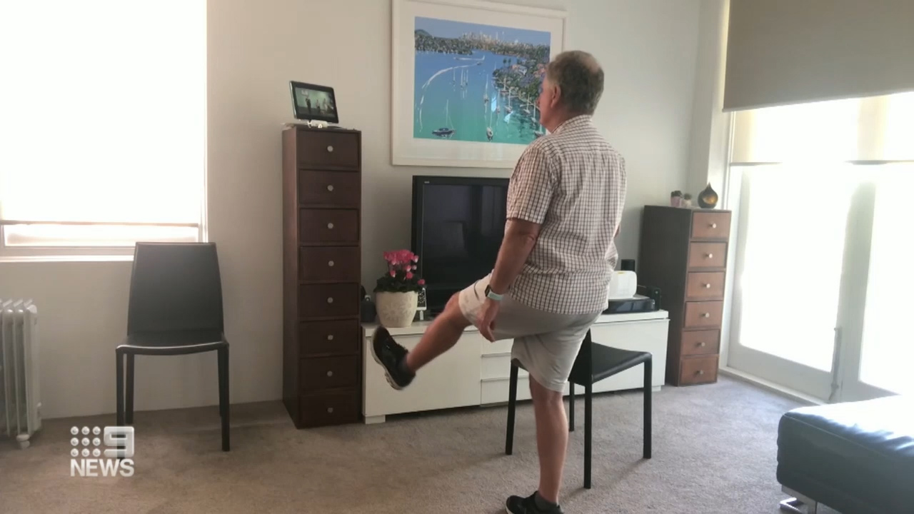 Seniors swarming the internet to exercise, stay in touch in lockdown