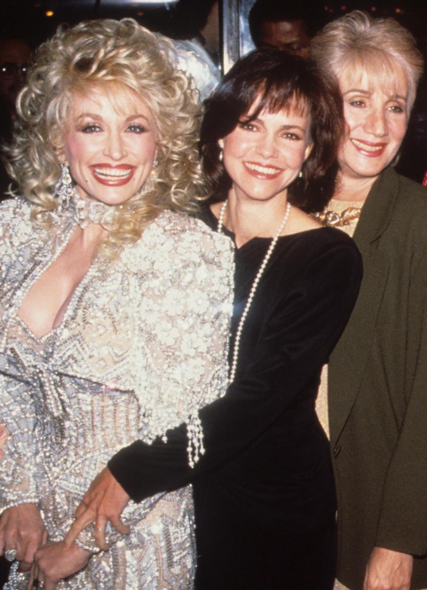 Dolly Parton, Sally Field, Olympia Dukakis