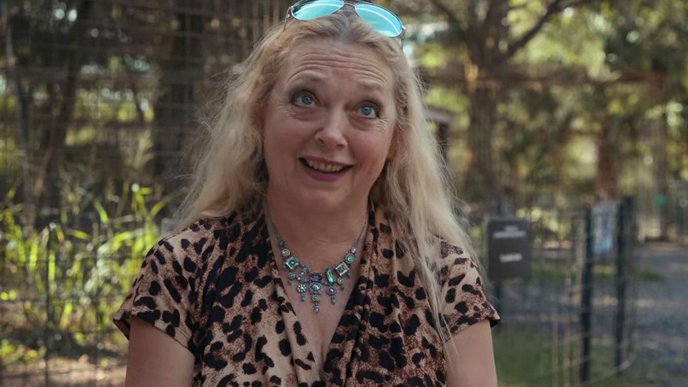 Tiger King star Carole Baskin has denied an involvement in her late husband's death.