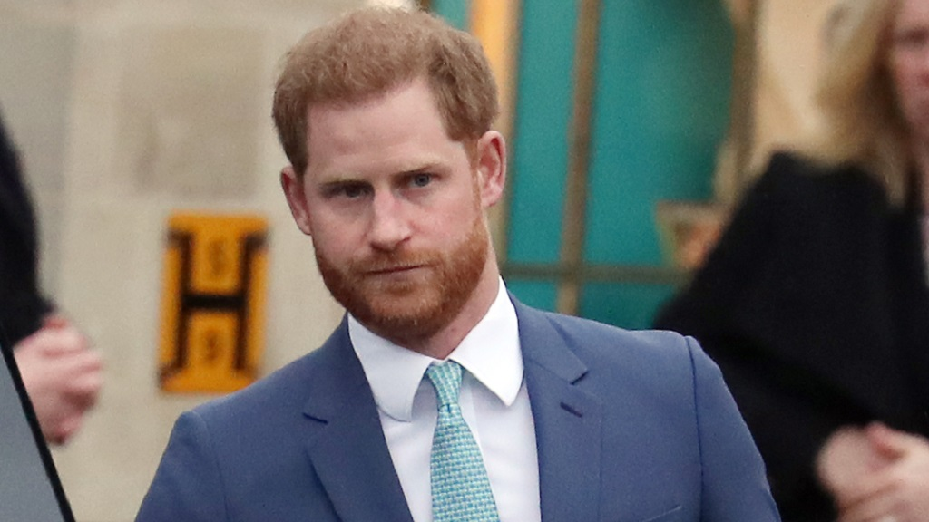 Prince Harry lands in the UK to attend Prince's funeral