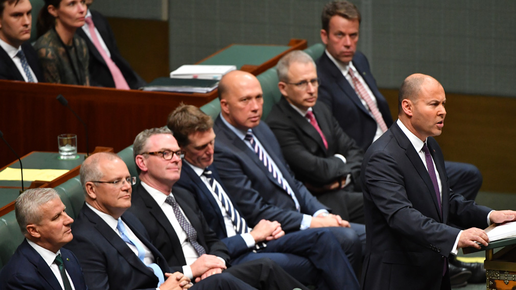 The federal coalition has promised to get rid of government debt within a decade