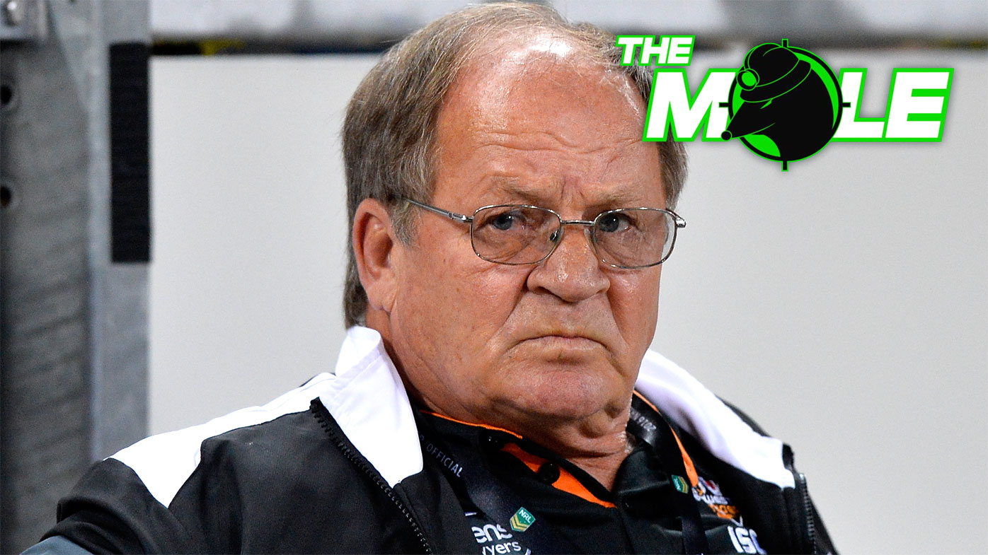 Tommy Raudonikis at a Wests Tigers game.