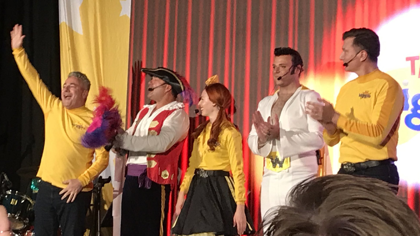 Tears and smiles as second Wiggles show goes ahead without Greg Page
