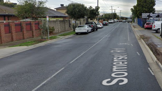Two men have been charged with attempted murder after an alleged daylight stabbing in in Somerset Road, Campbellfield.