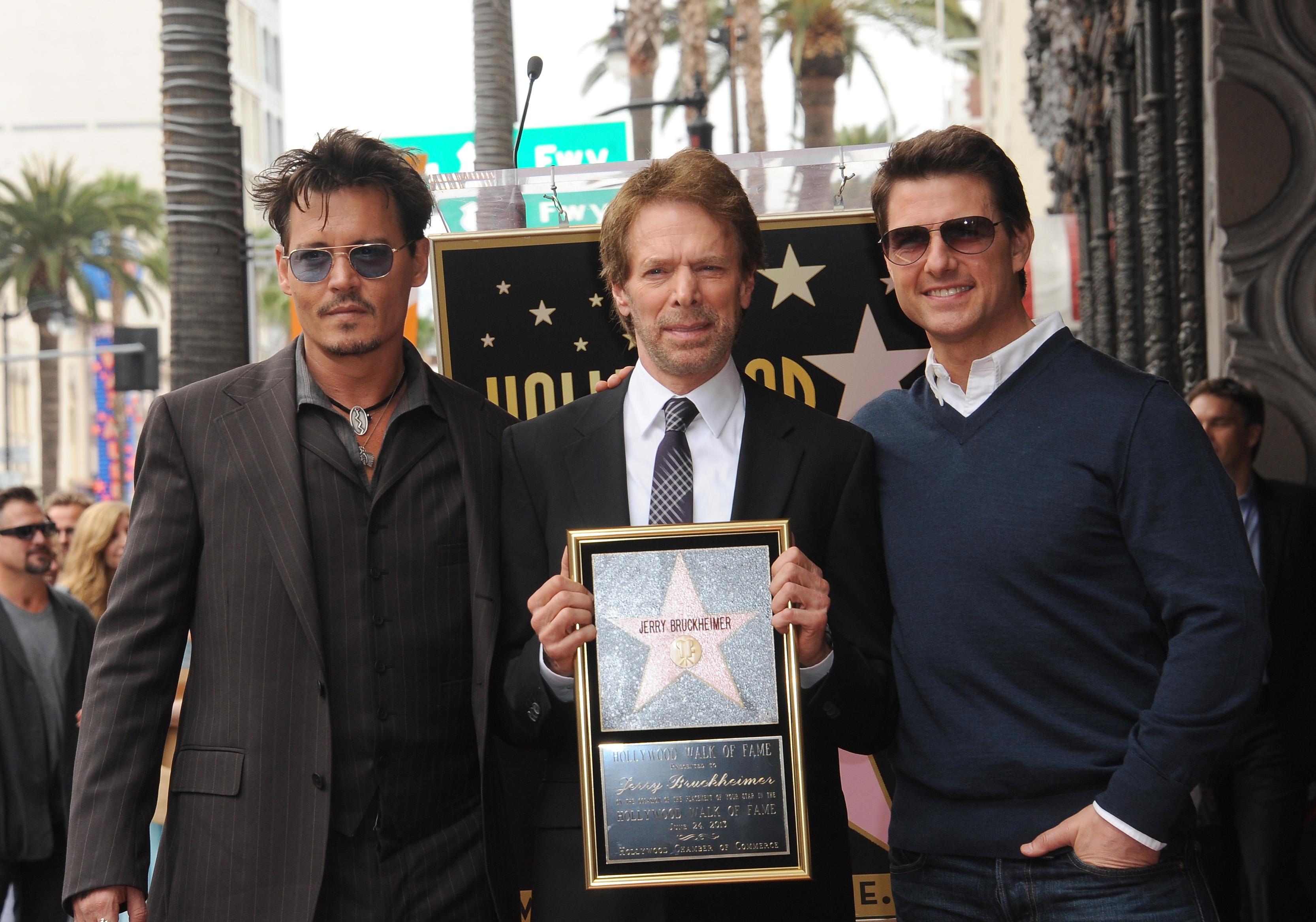 Jerry Bruckheimer, Hollywood Walk Of Fame, honoured, June 24, 2013, Hollywood, California.