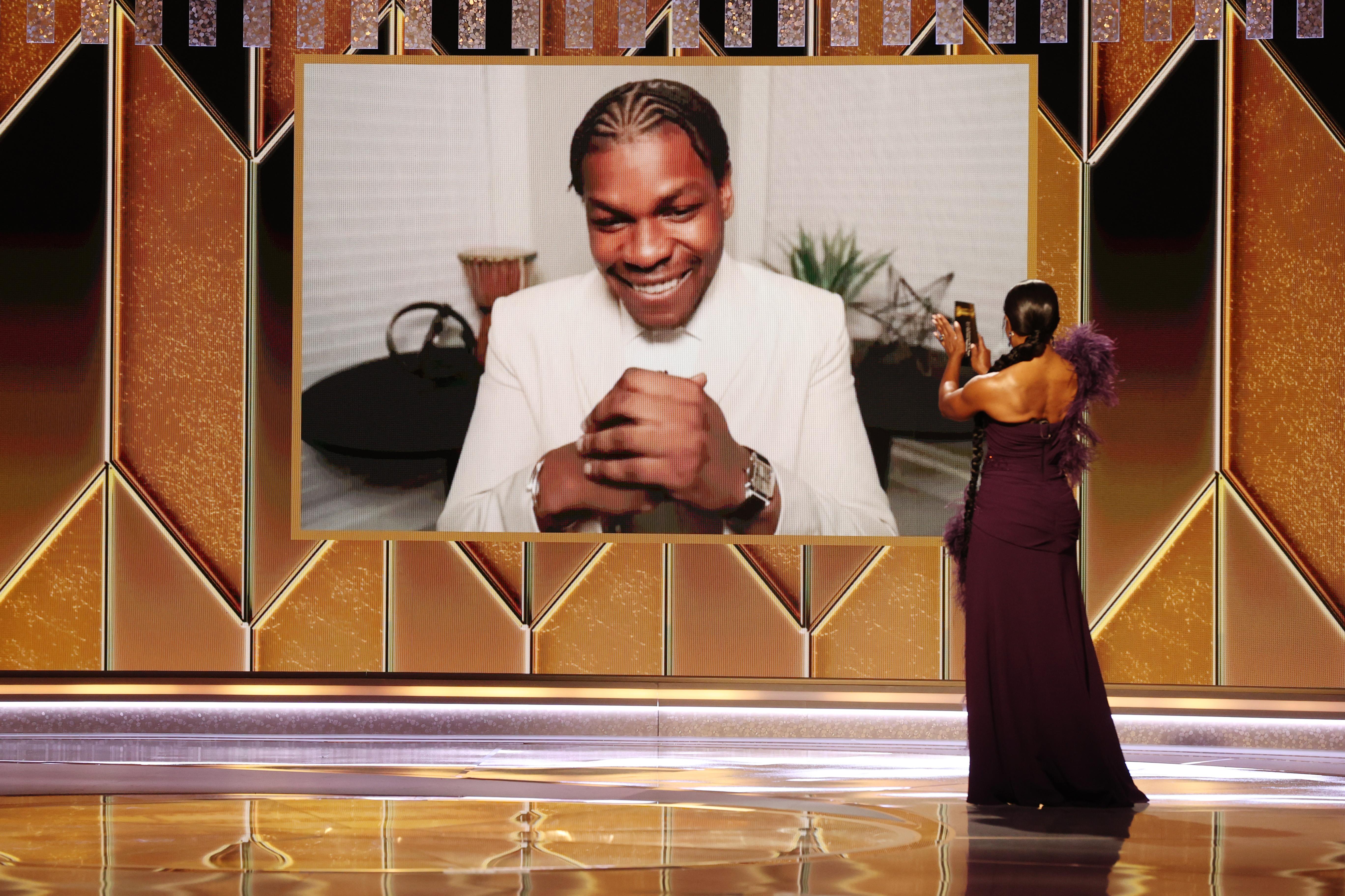 John Boyega won Beat Supporting Actor for televsion