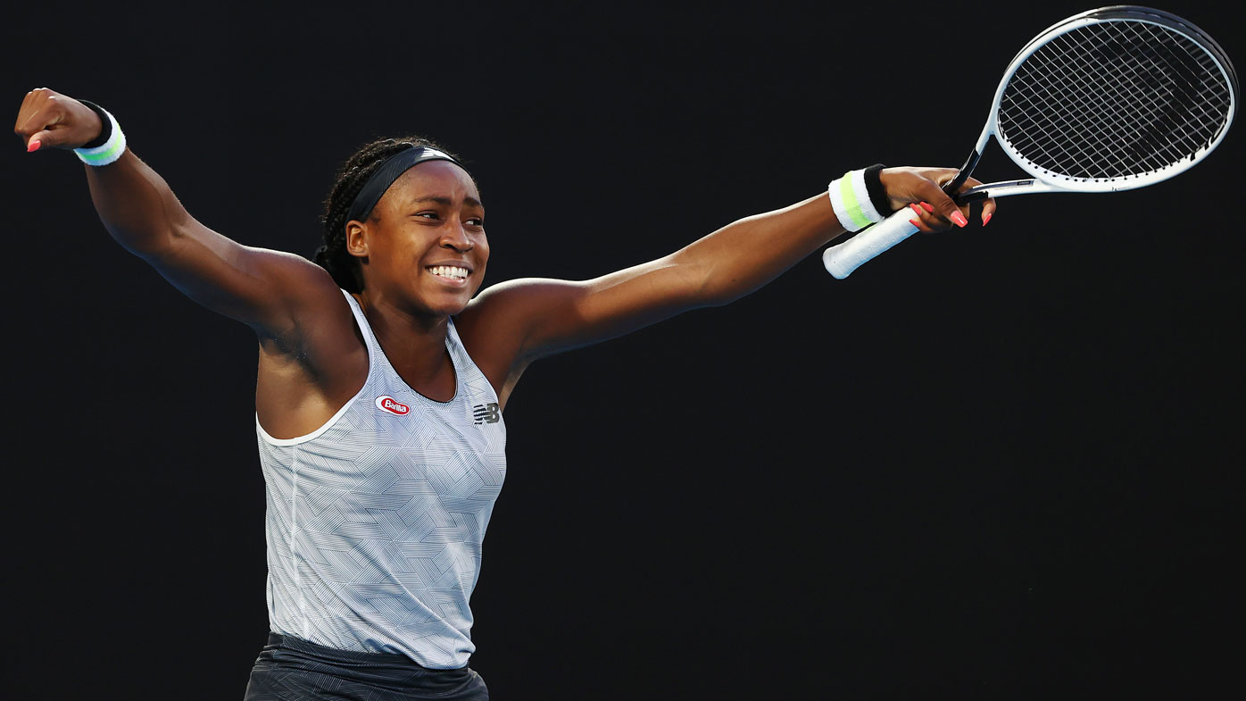Coco Gauff opens up about her journey at Australian Open 2020