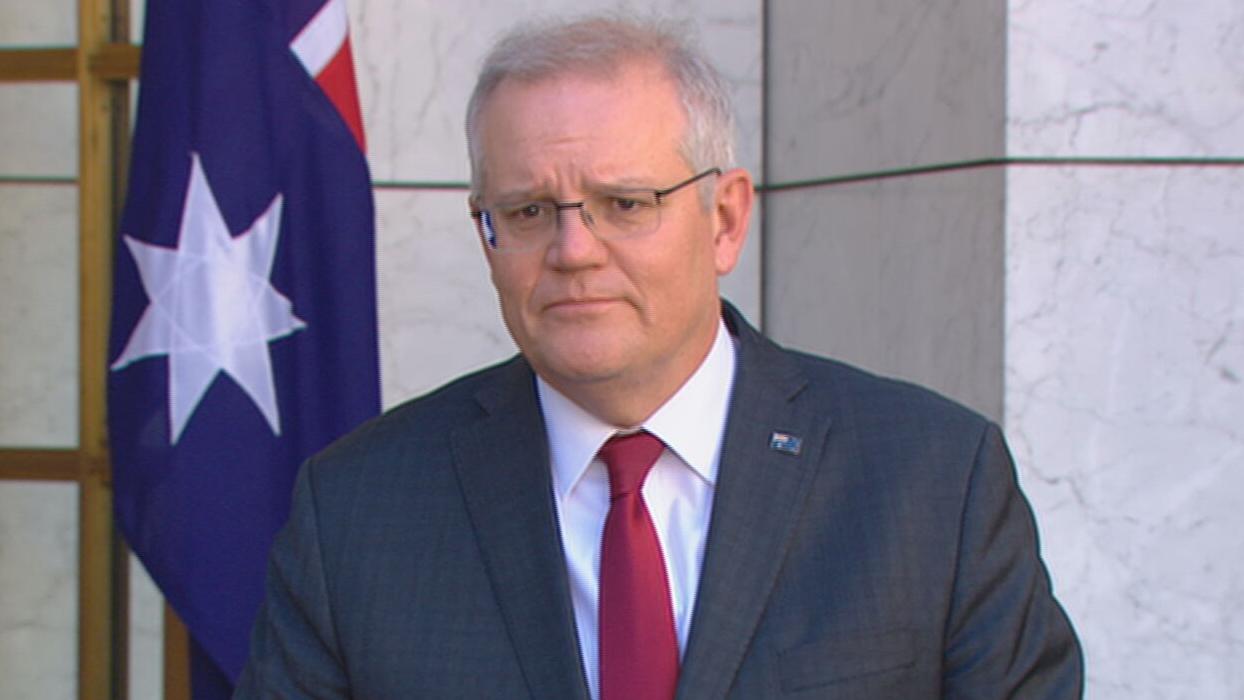 Prime Minister, Scott Morrison.