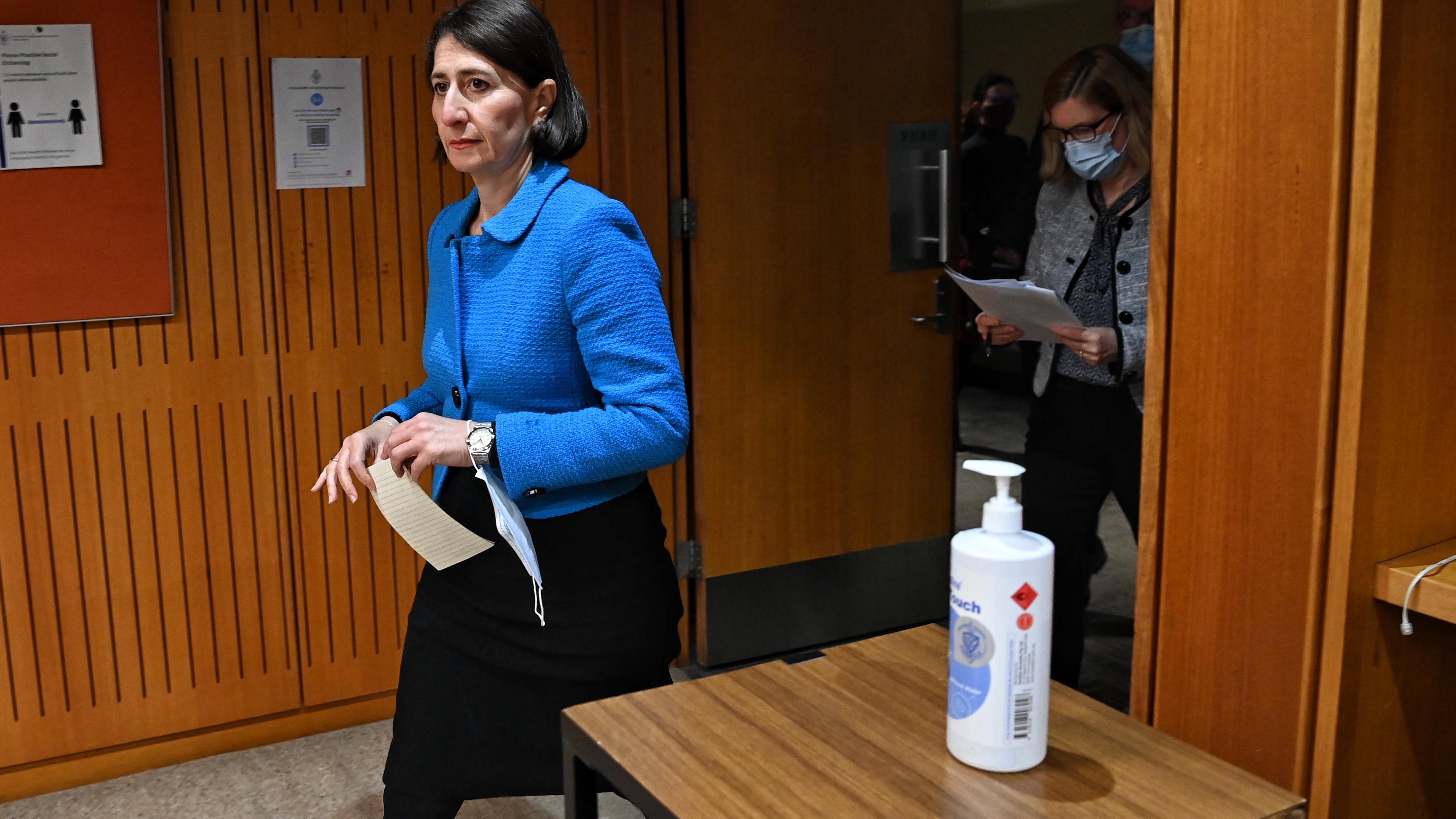 NSW Premier Gladys Berejiklian, and Dr Kerry Chant.