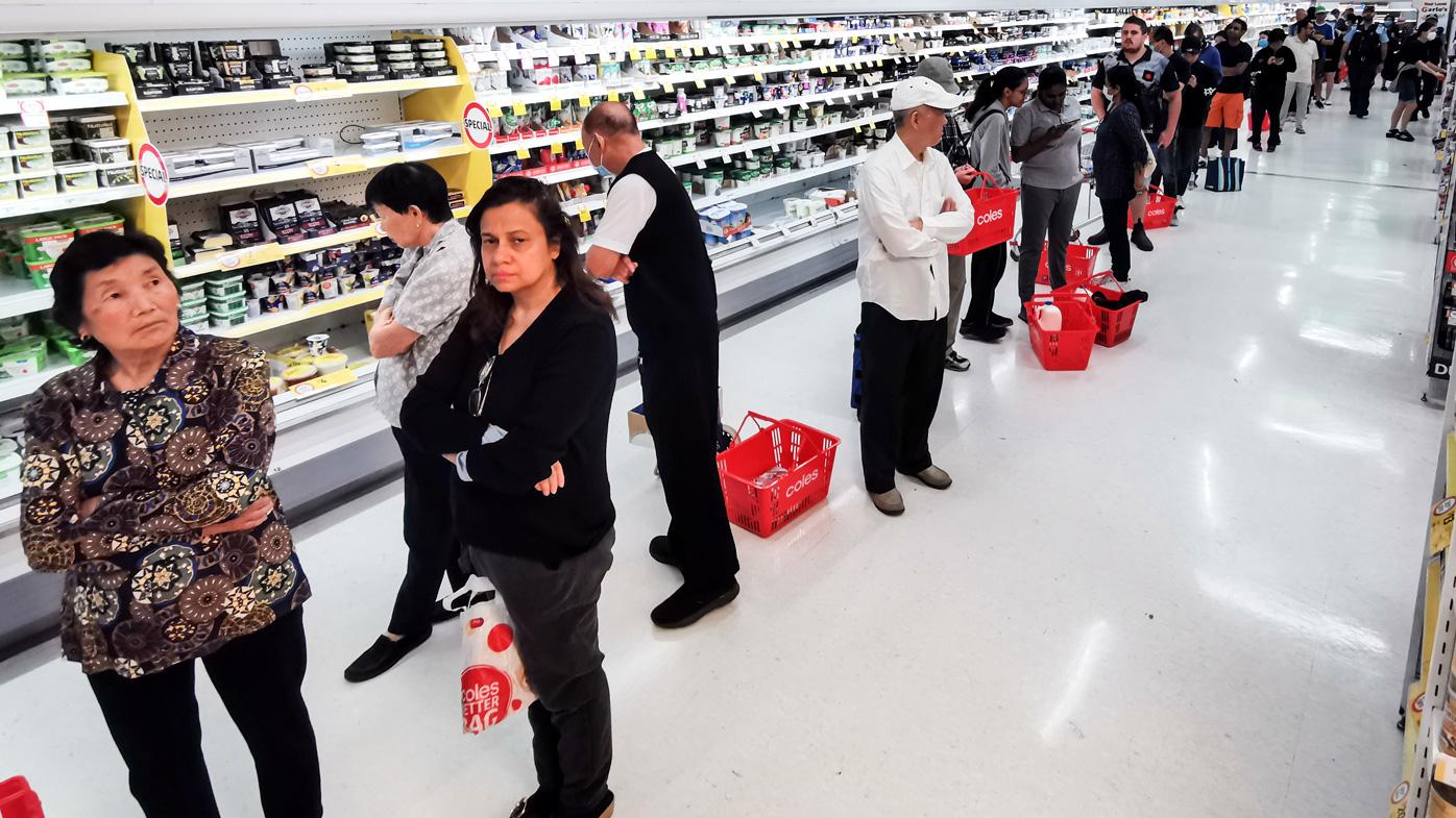 Coronavirus panic buying rockets Coles sales to record levels