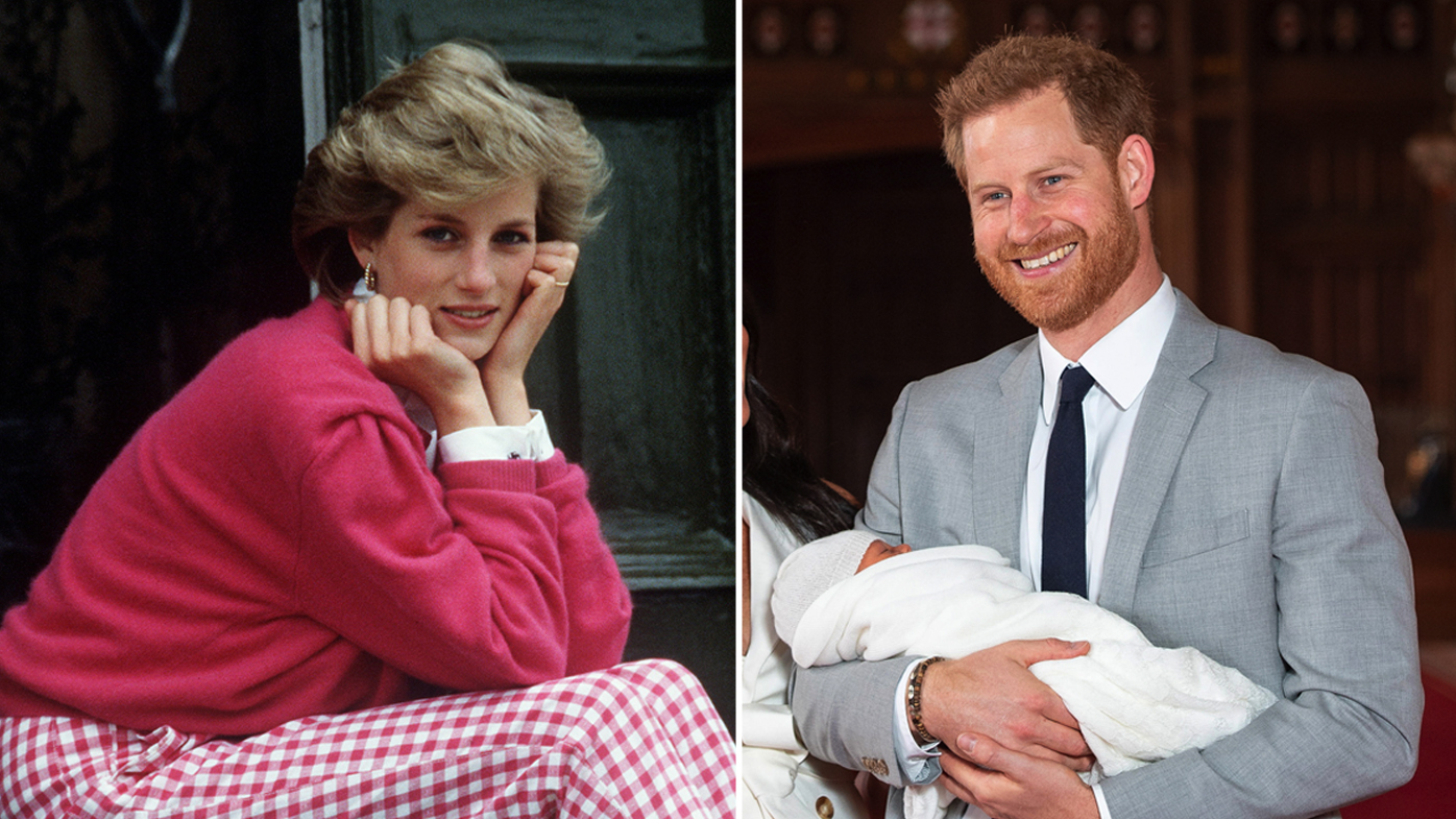 Prince Harry Reflects on the Loss of His Mom the Late Princess Diana After Birth of Royal Baby Archie
