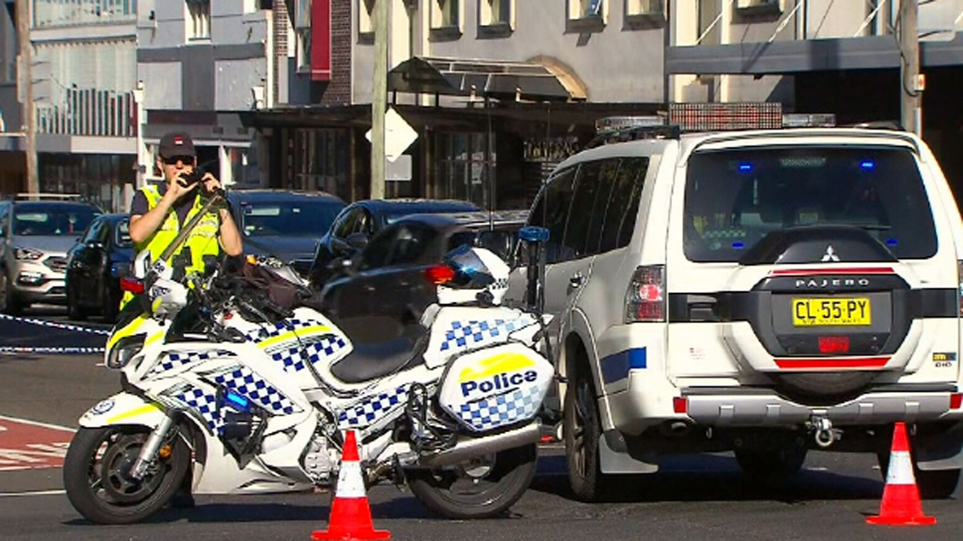 Nurse performs CPR after woman hit by cyclist in Sydney's inner west