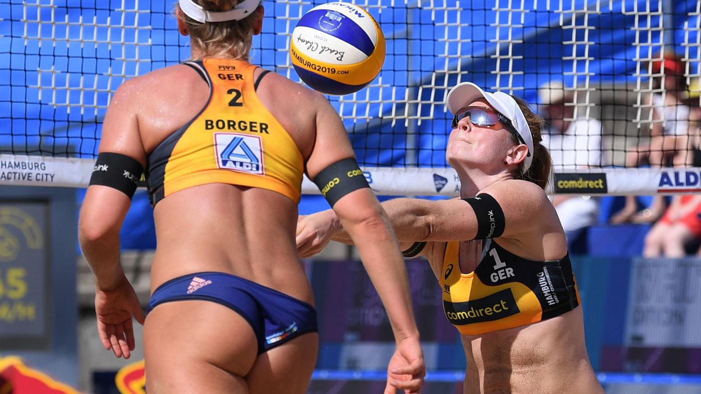 Karla Borger and Julia Sude. (Getty)