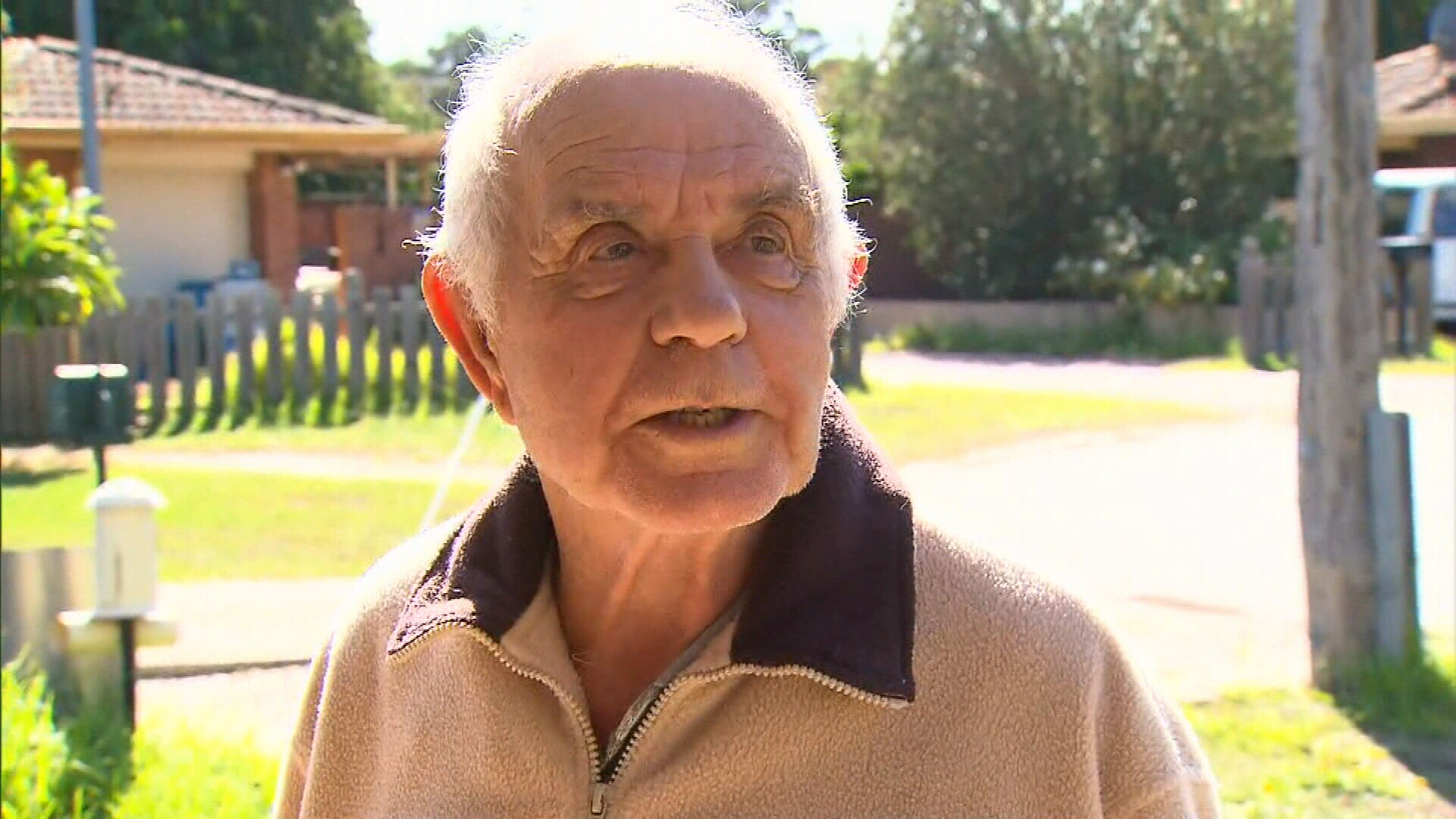 'Put my foot down': Grandfather 'sped through COVID-19 checkpoint'