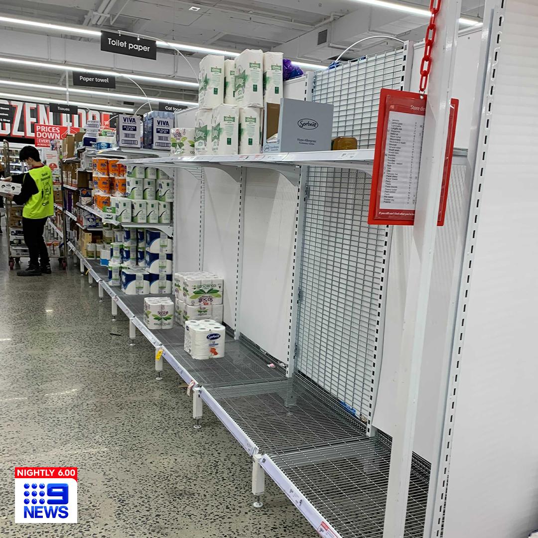 Panic buying returns to Sydney despite lack of lockdown