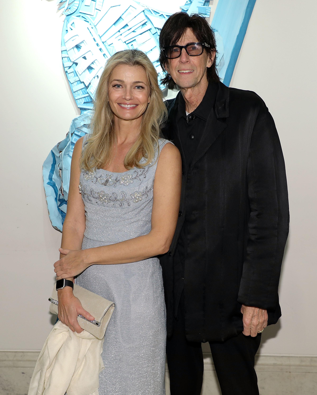 Paulina Porizkova and Ric Ocasek