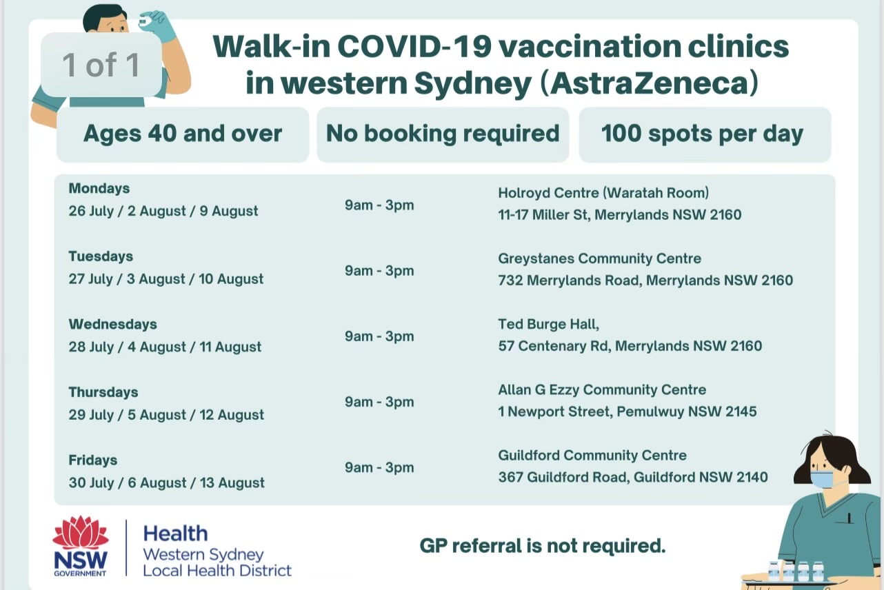 Priority vaccine access for hundreds of Sydney supermarket workers