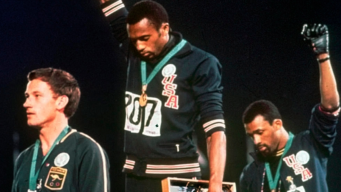 Peter Norman's famous Mexico Olympic stand immortalised with statue