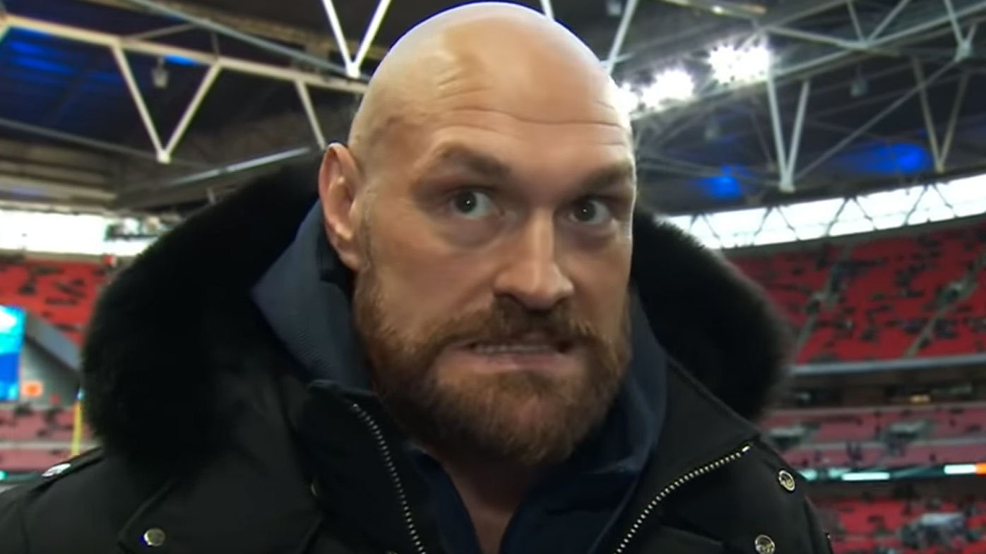 Boxing heavyweight champion Tyson Fury weighing up MMA career