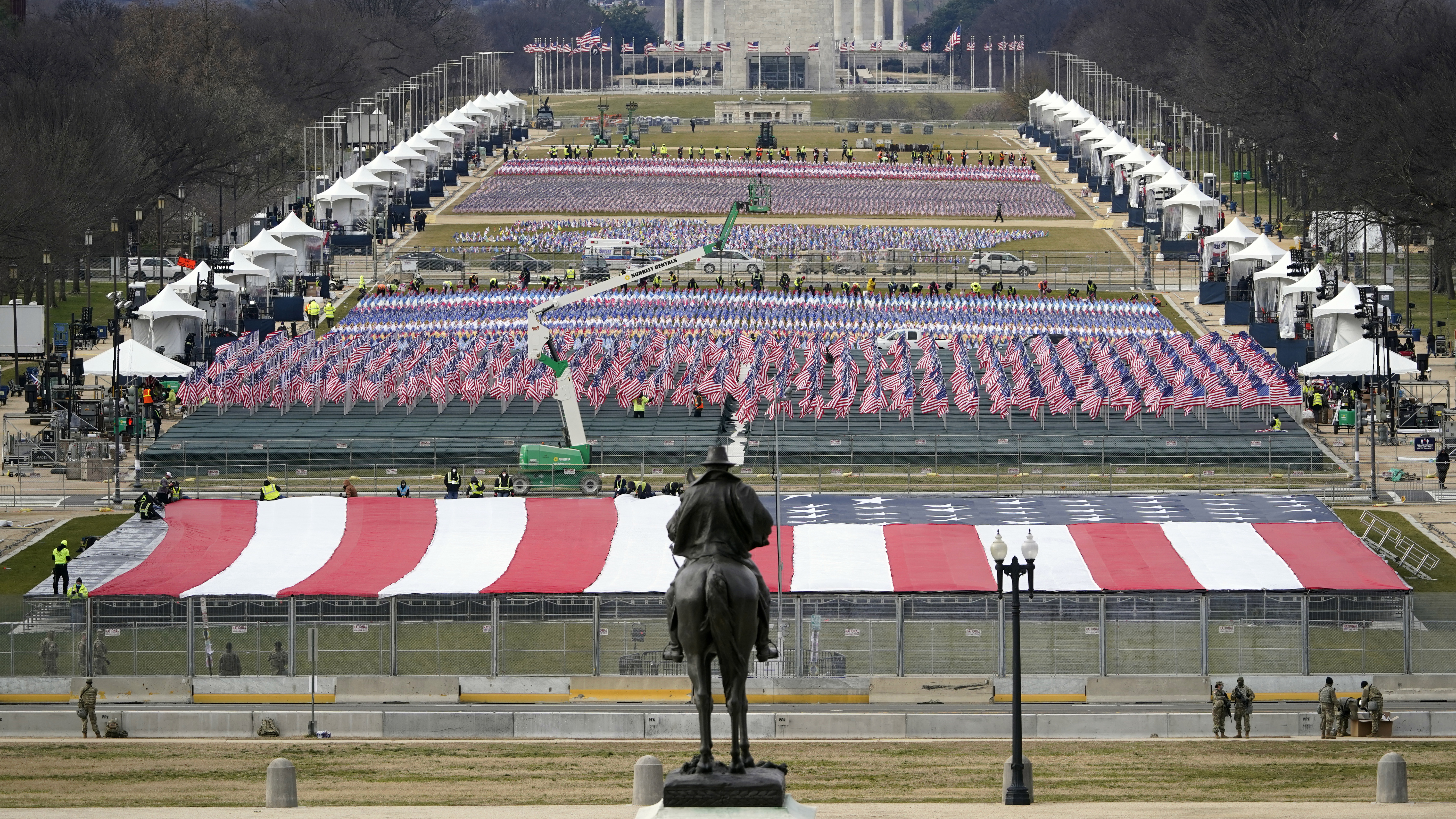 US Capitol locked down amid inauguration security scare