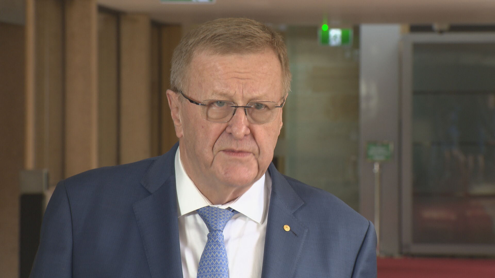 President of the Australian Olympics Committee John Coates.