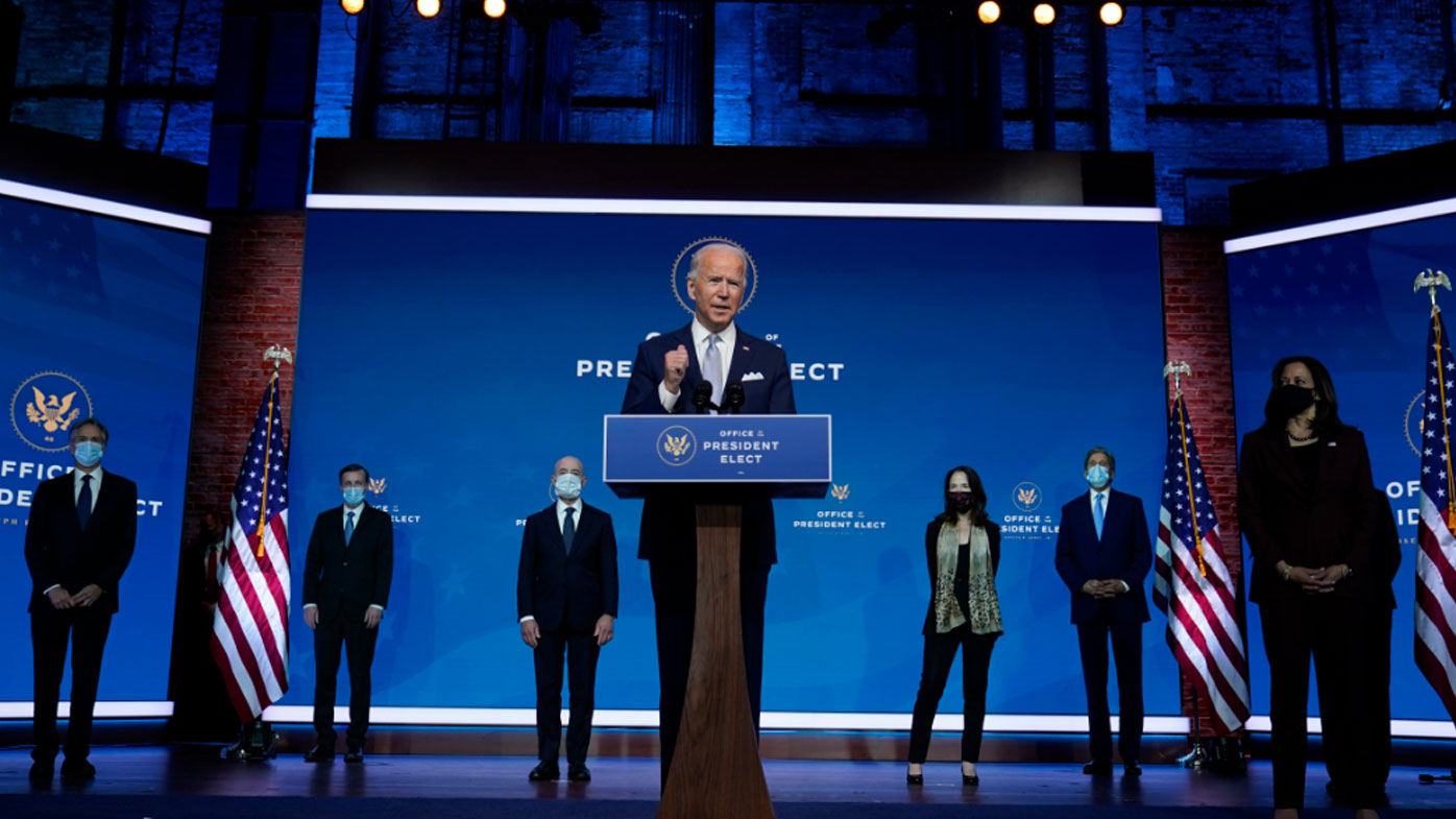 Biden signals stark shift with new national security team