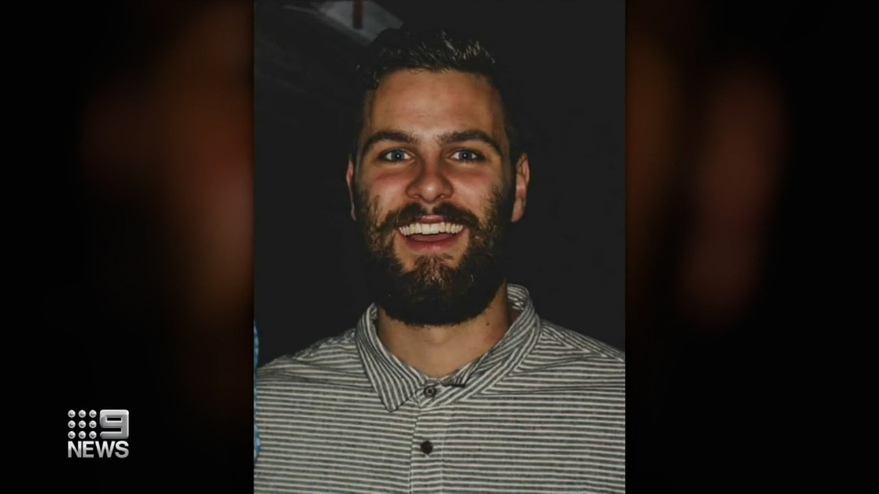 Jordan Kelly has been missing for more than 24 hours after his surf ski took on water off the Queensland coast.