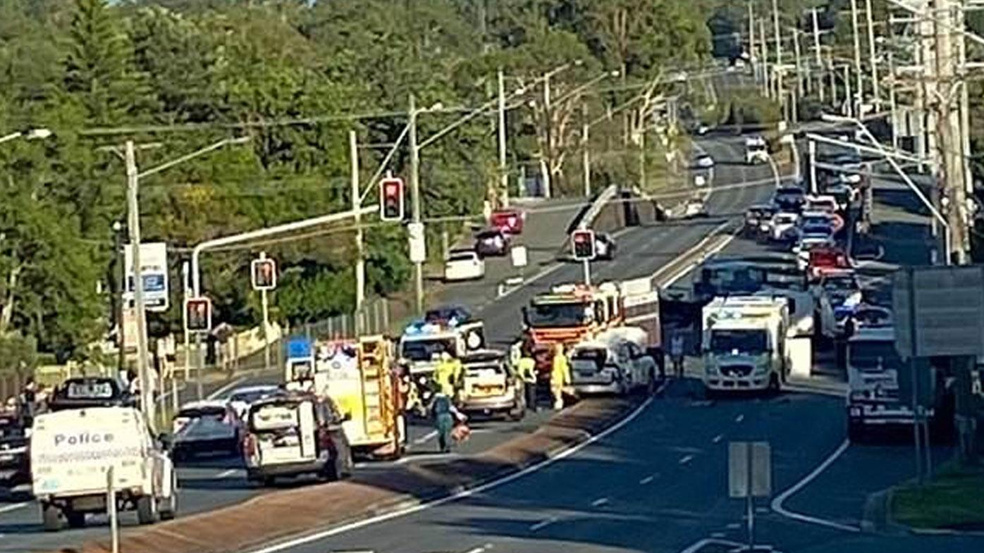 Double fatal crash, Alexander Hills Brisbane