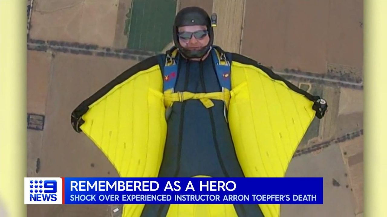 Skydiving instructor killed in crash remembered as 'a wonderful man'