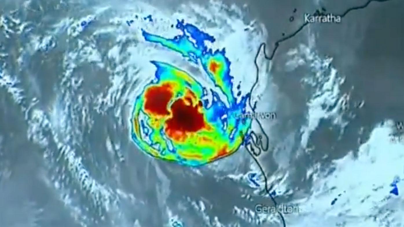 Seroja makes lanfall as category three storm