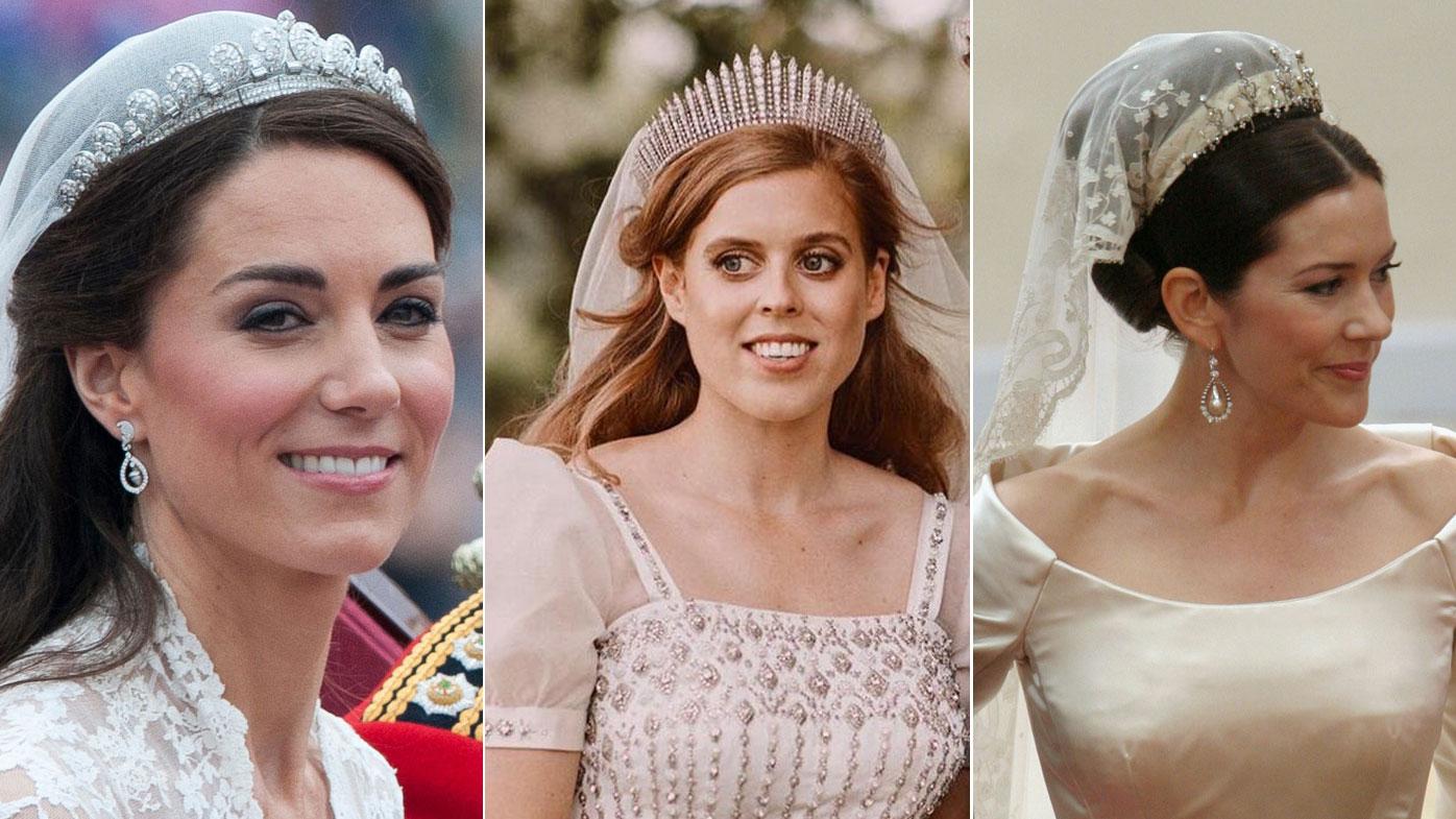 Royal Wedding Tiaras In History Princess Beatrice Queen