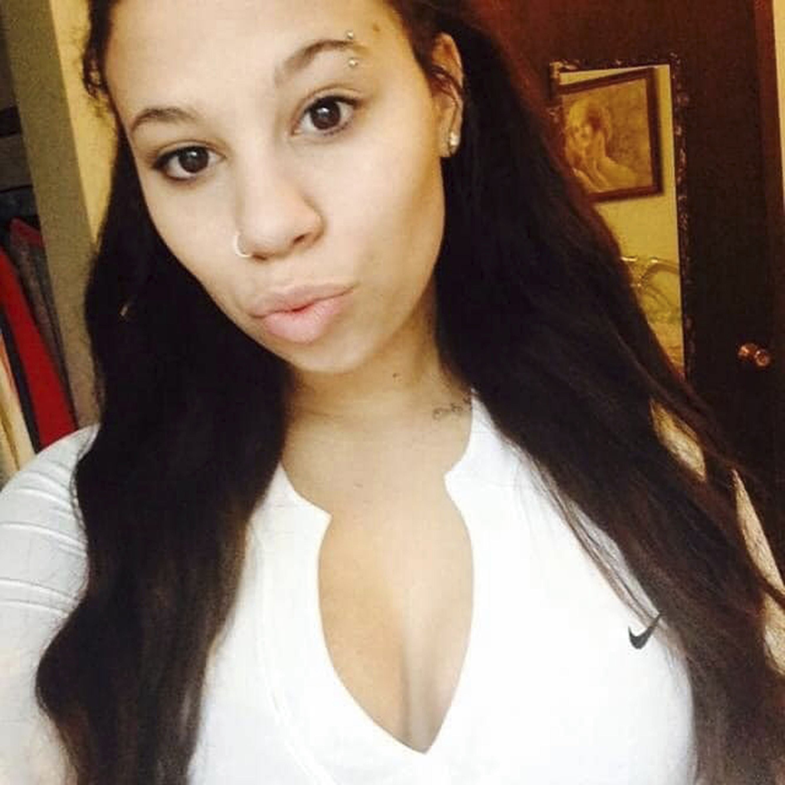 Italia Marie Kelly, 22, of Davenport, Iowa. Kelly, who also went by the last name Impinto, was shot and killed outside a Walmart early Monday, June 1, 2020, while leaving a protest against police brutality.