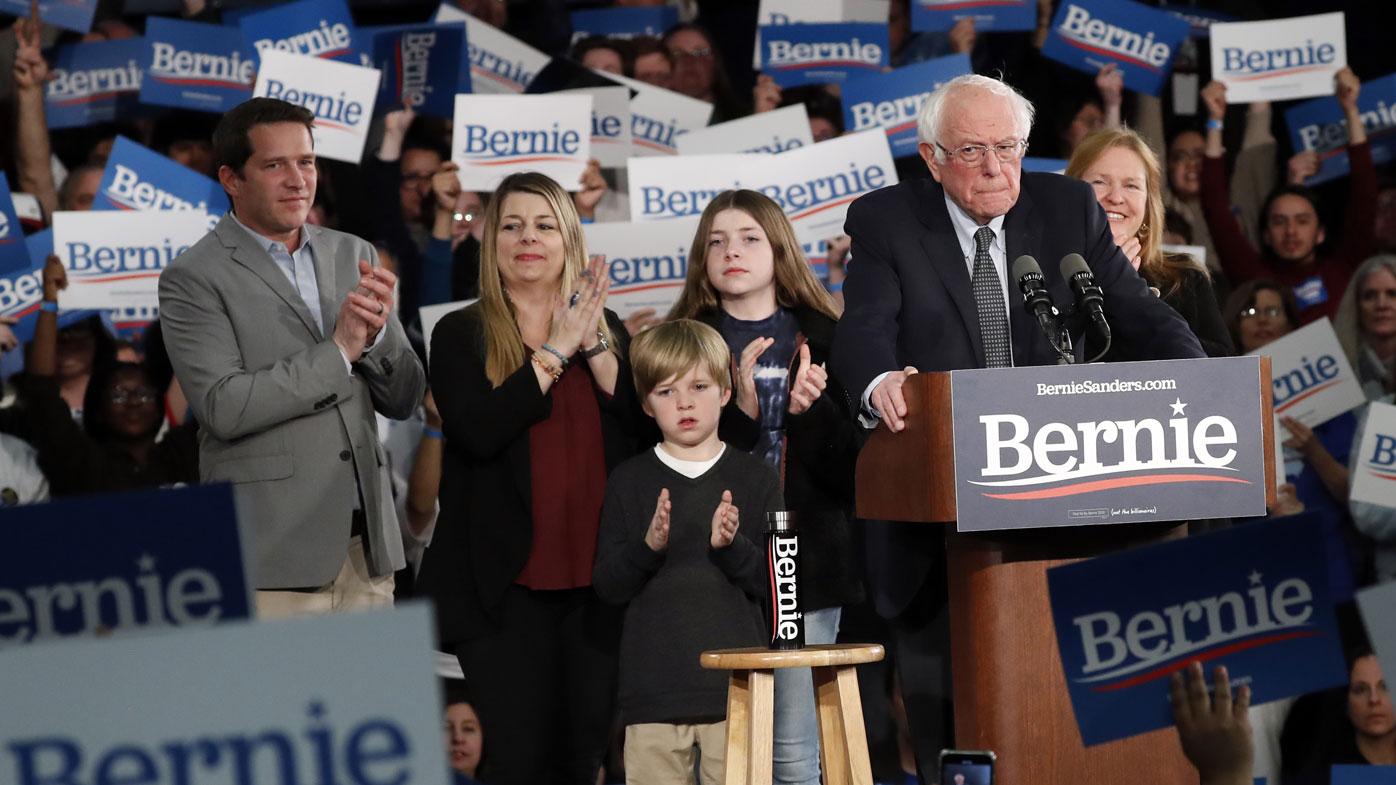 Polling in the final weeks showed Bernie Sanders in front in Iowa.
