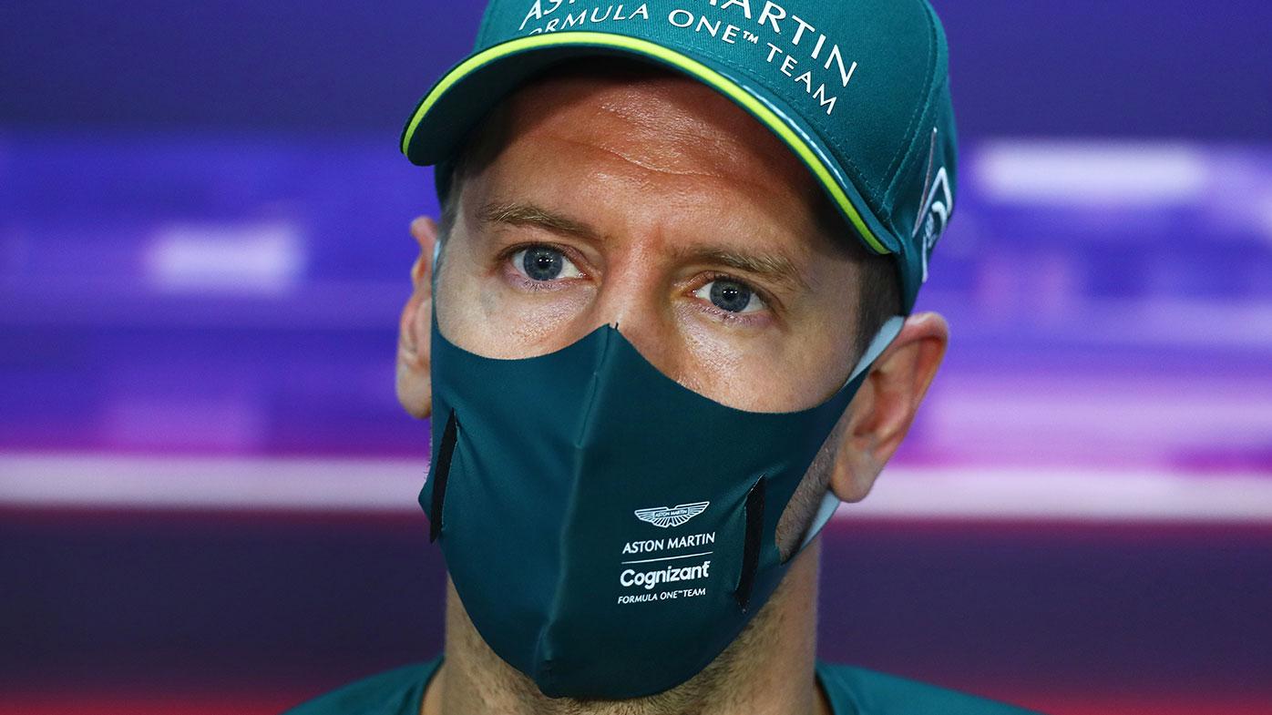 Four-time world champion Sebastian Vettel.