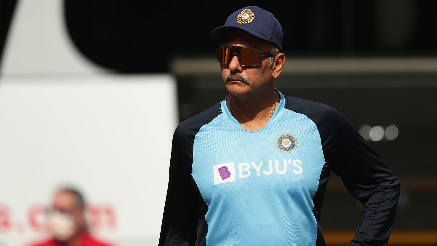 Indian coach Ravi Shastri created controversy on the eve of the third Test by refusing to wear a mask