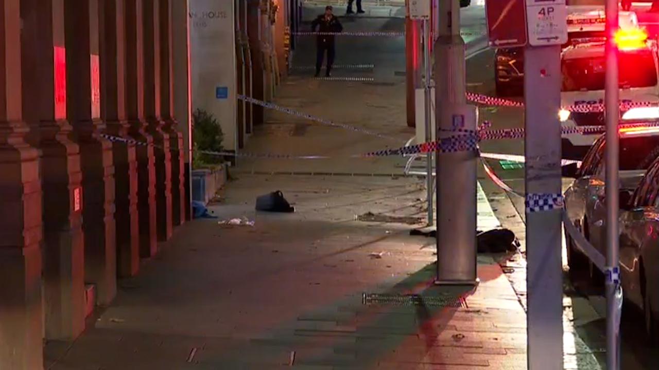 Man shot dead in Sydney CBD
