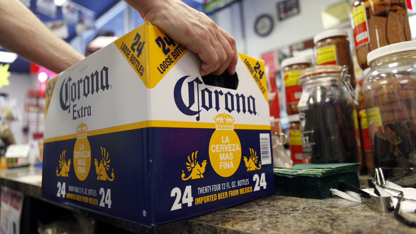 Corona's brand has suffered because it has been falsely linked to the coronavirus COVID-19.