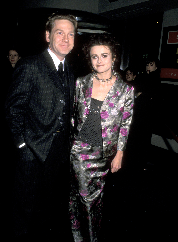 Kenneth Branagh and Helena Bonham Carter in 1998.