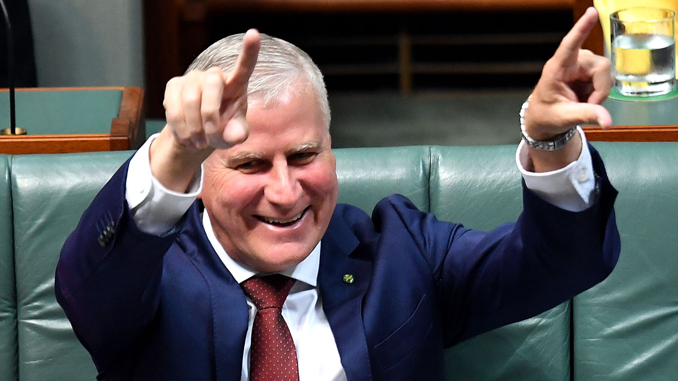 Michael McCormack is reportedly under pressure from Barnaby Joyce.